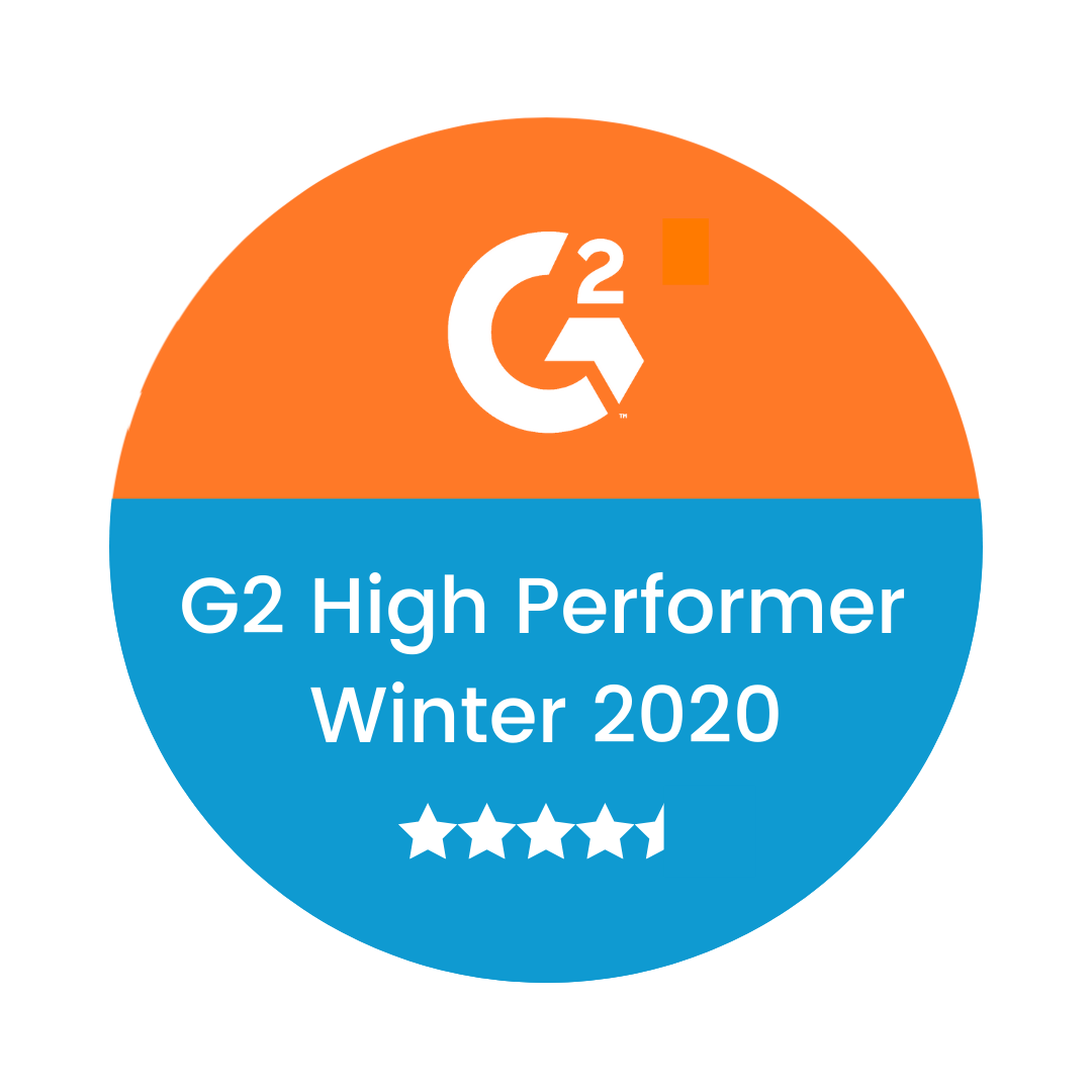 G2 High Performer - Winter 2020